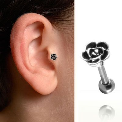 bijou de cartilage et tragus rose mgap007. Black Bedroom Furniture Sets. Home Design Ideas