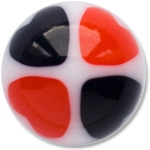 YBU017 - BKRE : Noir & Rouge