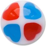 YBU017 - REBL : Rouge & Bleu
