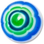 YBU021 - GRBL : Vert & Bleu