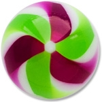 YBU025 - GRPU : Vert & Violet