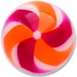 YBU025 - PUOR : Violet & Orange
