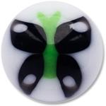 YBU023 - BKGR : Noir & Vert