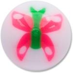 YBU023 - PIGR : Rose & Vert