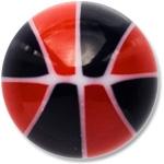 YBU039 - BKRE : Noir & Rouge