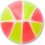 YBU039 - PIGR : Rose & Vert