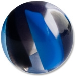 YBU031 - BKBL : Noir & Bleu
