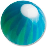 YBU038 - BLGR : Bleu & Vert