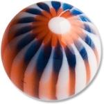 YBU038 - BLOR : Bleu & Orange