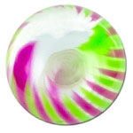 YBU061 - PUGR : Violet & Vert