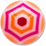 YBU020 - ORPU : Orange & Violet
