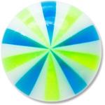 XBU006 - BLGR : Bleu & Vert