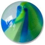 YBU044 - BLGR : Bleu & Vert