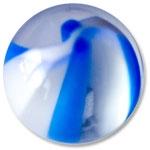 YBU044 - BLWH : Bleu & Blanc