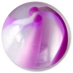 YBU044 - PUWH : Violet & Blanc