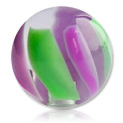 XBU026 - PUGR : Violet & Vert