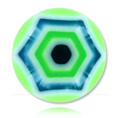 XBU042 - GRBL : Vert & Bleu
