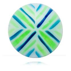 XBU044 - BLGR : Bleu & Vert