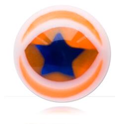 XBU045 - ORBL : Orange & Bleu