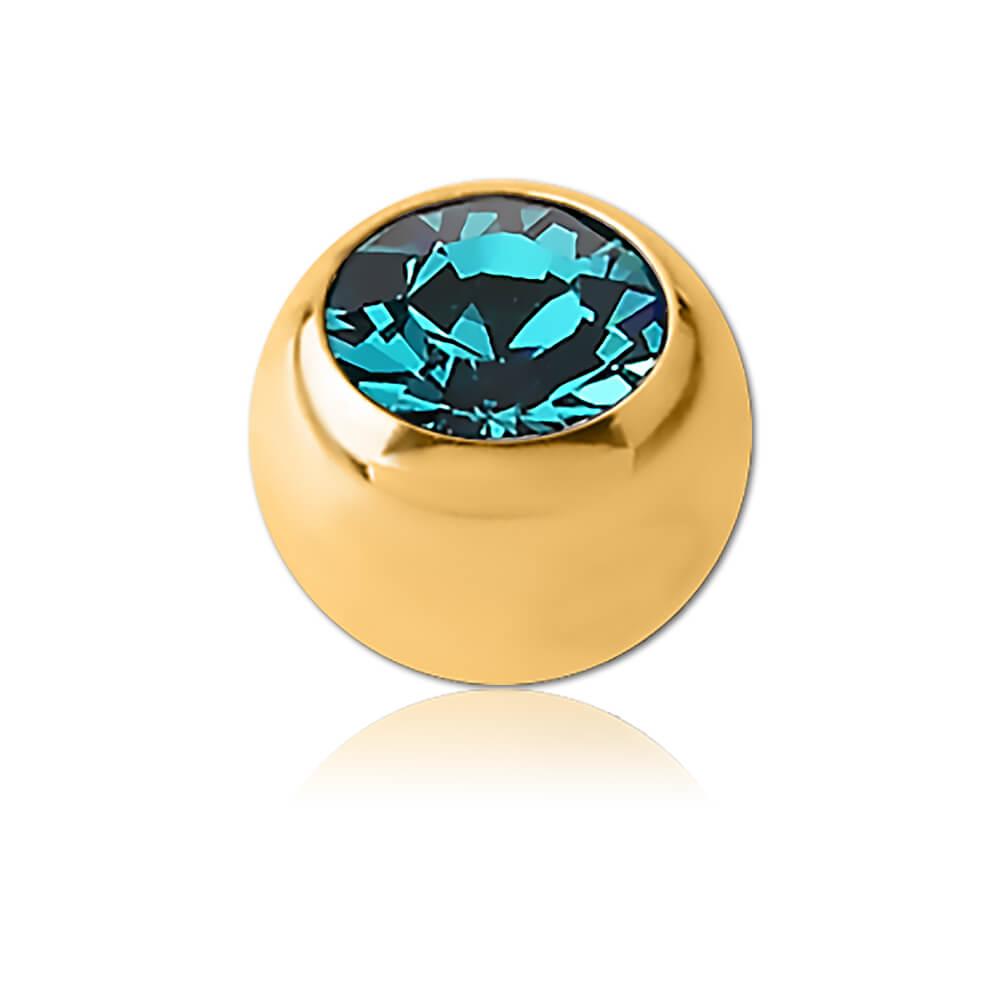 XSQ001 - BZ : Zircon Bleu