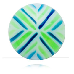 YBU012 - BLGR : Bleu & Vert