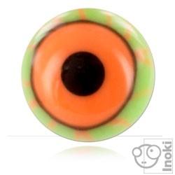 YBU075 - GROR : Vert & Orange