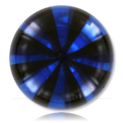 YBU078 - BKBL : Noir & Bleu