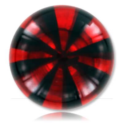 YBU078 - BKRE : Noir & Rouge