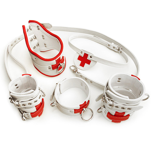 Set panoplie Infirmière SM cuir