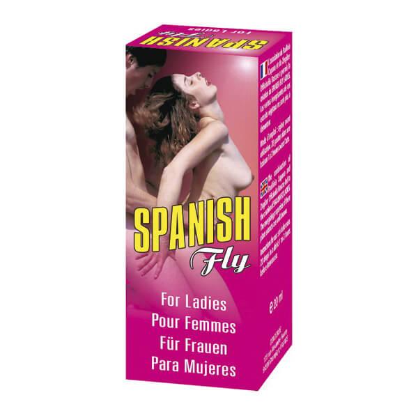 Stimulant sexuel aphrodisiaque Spanish Fly pour femmes