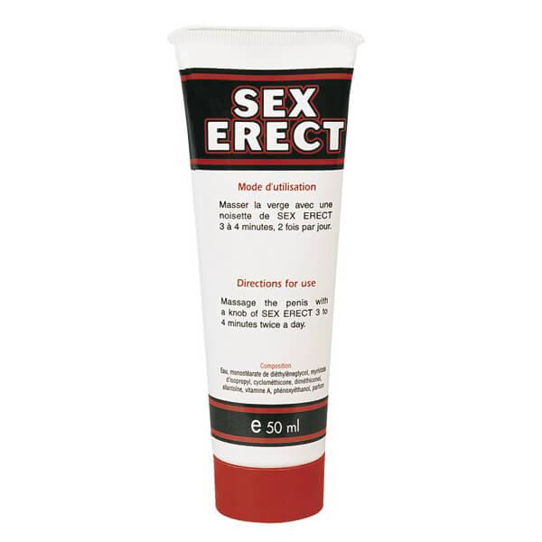Crème pour développement du pénis Sex Erect