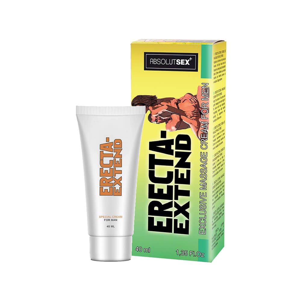 Crème intime pour homme Erecta Extend