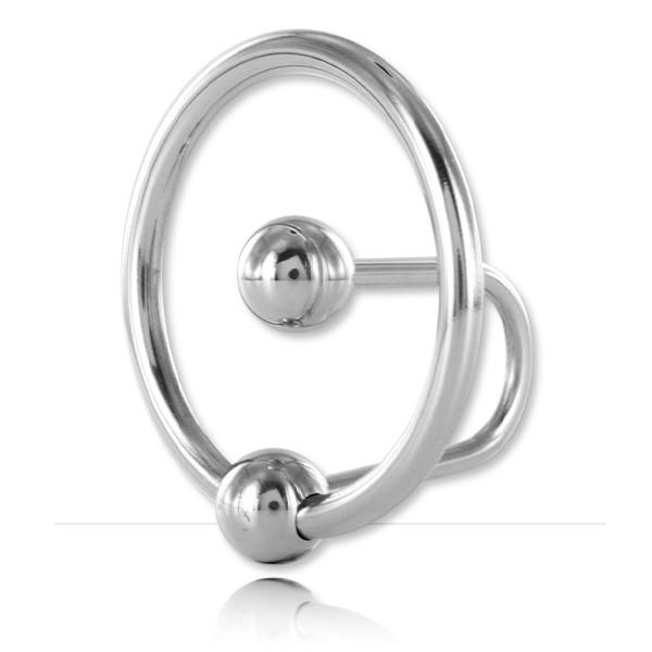 Boule urétrale avec anneau de gland