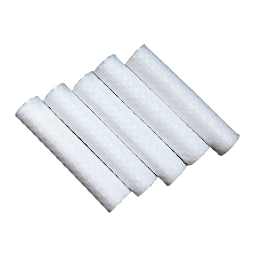 Lot 5 recharges coton pour inhalateur à poppers