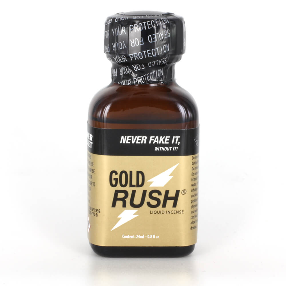Poppers Pentyle Gold Rush 24ml