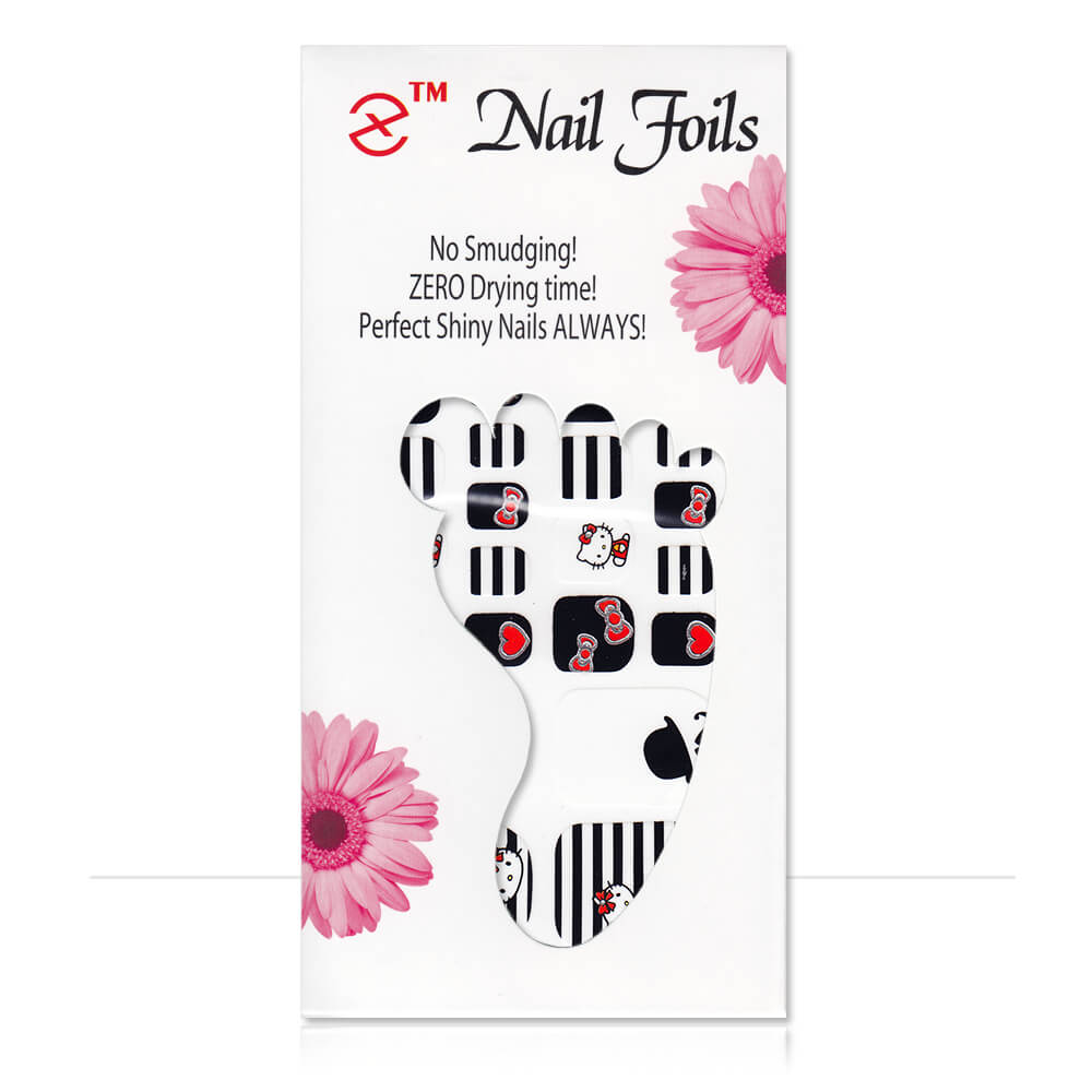 Pack stickers 22 ongles Hello Kitty