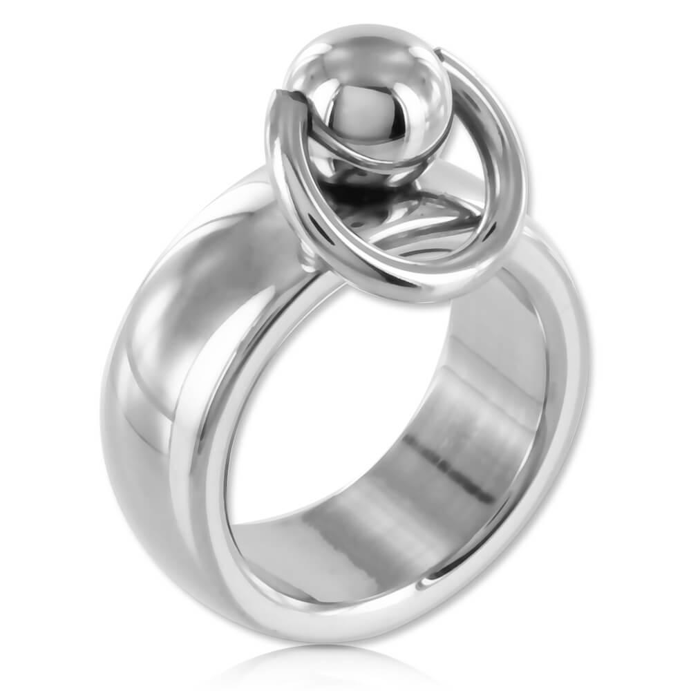 Bague BDSM acier anneau d'O - Alex