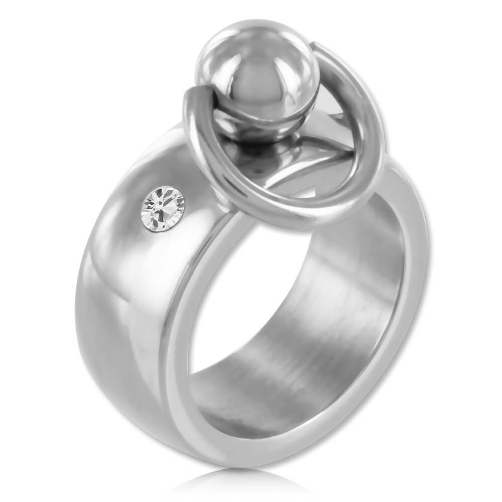 Bague BDSM acier anneau d'O - Orlane