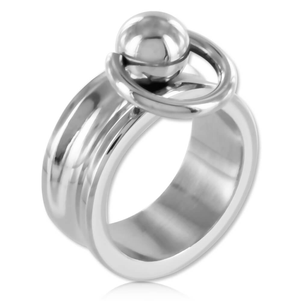 Bague BDSM acier anneau d'O - Evan