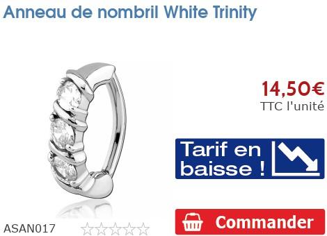 Anneau de nombril Trinity