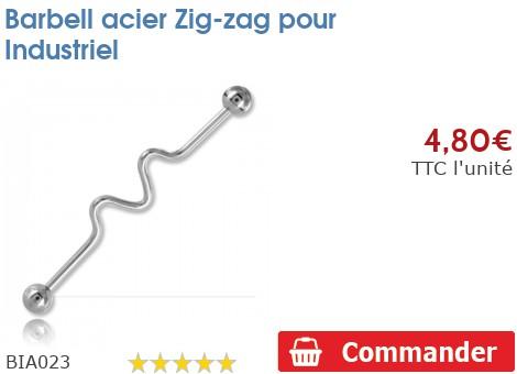 Barbell acier Zig-zag pour Industriel