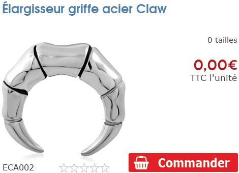 Élargisseur griffe acier Claw