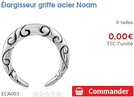 Élargisseur griffe acier Noam
