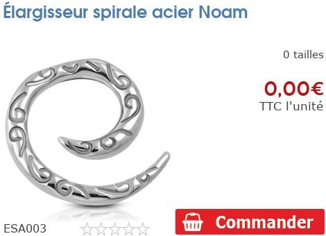 Élargisseur spirale acier Noam