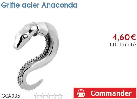 Griffe acier Anaconda