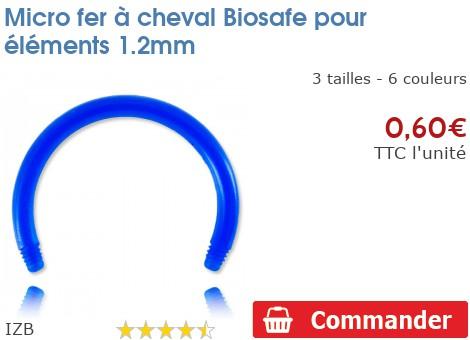 Micro fer à cheval BioSafe pour éléments 1.2mm