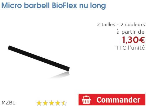 Micro barbell BioFlex long nu