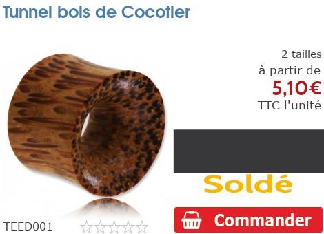 Tunnel épaulé bois de Cocotier