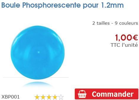 Boule Phosphorescente pour 1.2mm