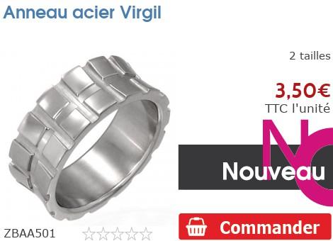 Anneau acier Virgil